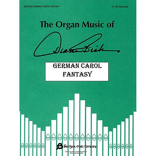 Fred Bock Music German Carol Fantasy (The Organ Music of Diane Bish Series) Fred Bock Publications Series