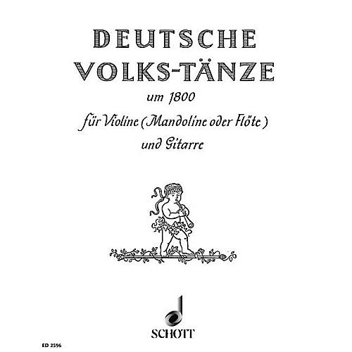 Schott German Folk Dances Schott Series Composed by Various