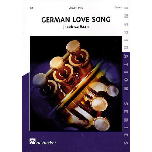Hal Leonard German Love Song Sc Only Grade 2 Concert Band