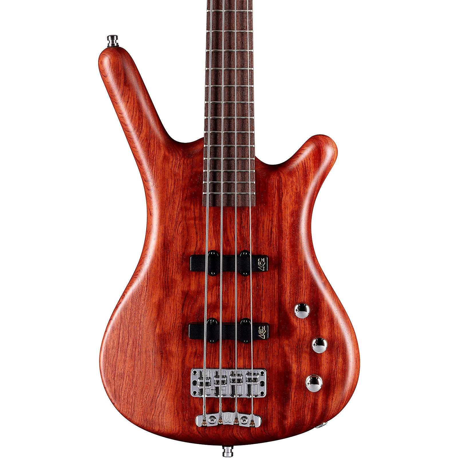 Warwick German Pro Series Corvette Bubinga Active Electric Bass Guitar