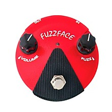 Open BoxDunlop Germanium Fuzz Face Mini Red Guitar Effects Pedal