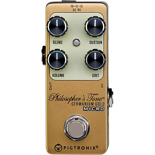 Pigtronix Germanium Gold Compressor Micro Effects Pedal Condition 1 - Mint