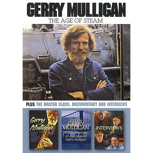Hal Leonard Gerry Mulligan - The Age of Steam DVD Series DVD Performed by Gerry Mulligan