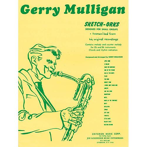 Hal Leonard Gerry Mulligan Sketch-Orks Book 1 For E Flat And B Flat Instruments