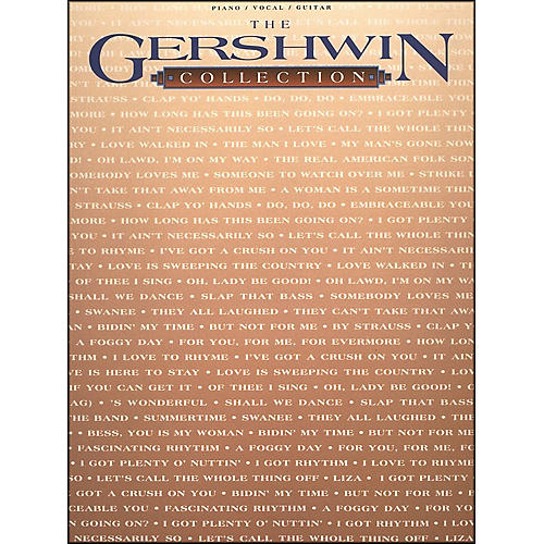 Hal Leonard Gershwin Collection arranged for piano, vocal, and guitar (P/V/G)