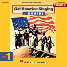 Hal Leonard Get America Singing ... Again! Vol 1 CD One Volume One CD One