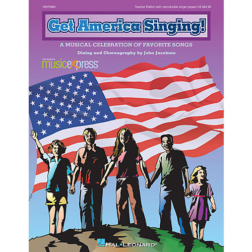 Hal Leonard Get America Singing! (A Musical Celebration of Favorite Songs) ShowTrax CD