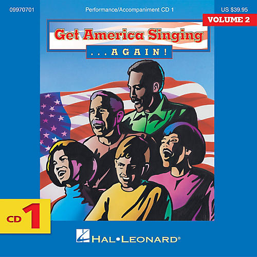Hal Leonard Get America Singing Again Vol 2 Complete 3-CD Set VOL 2 CD SET Composed by Various