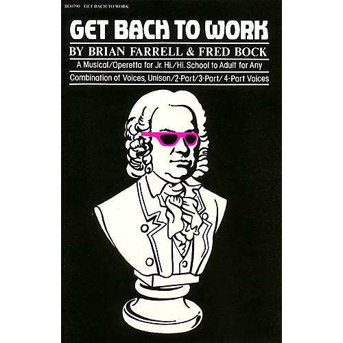 Hal Leonard Get Bach to Work composed by Fred Bock