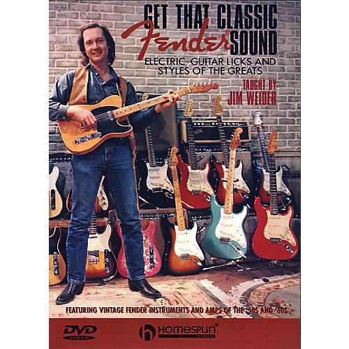 Homespun Get That Classic Fender Sound DVD