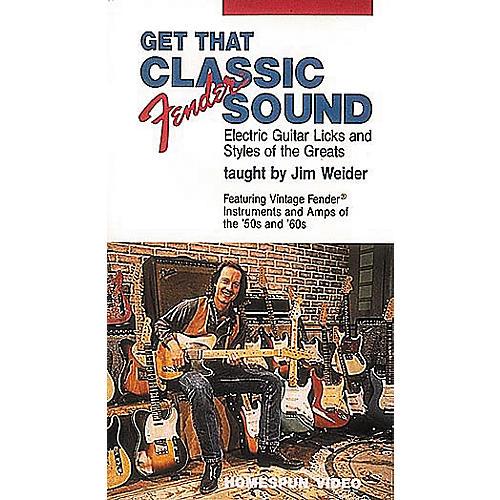 Hal Leonard Get That Classic Fender Sound! Video