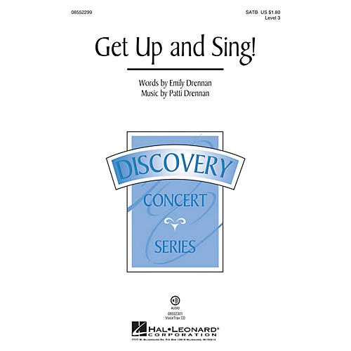 Hal Leonard Get Up and Sing! (Discovery Level 3) VoiceTrax CD Arranged by Patti Drennan