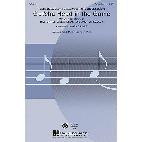 Hal Leonard Get'cha Head in the Game ShowTrax CD Arranged by Mark Brymer