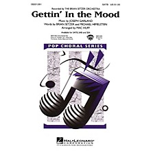 Hal Leonard Gettin' in the Mood SATB by The Brian Setzer Orchestra arranged by Mac Huff
