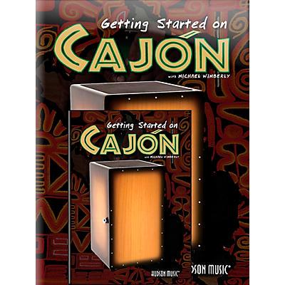 Hal Leonard Getting Started On Cajon (Book/DVD)