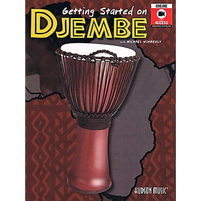 Hal Leonard Getting Started On Djembe Book/Online Audio