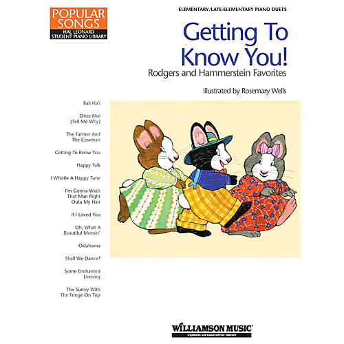 Hal Leonard Getting to Know You! - Rodgers and Hammerstein Favorites by Richard Rodgers (Level Late Elem)