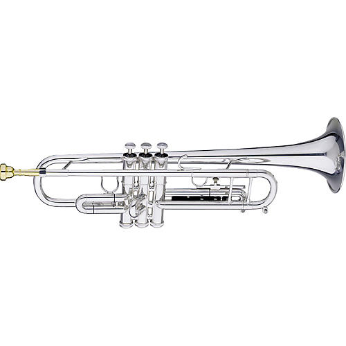 Getzen Getzen 590-S Capri Silver Trumpet with Accessories Value Pack