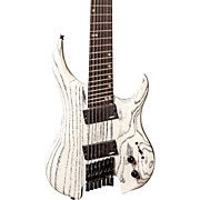 Ghost Performance 7 Multi-Scale Electric Guitar White Ash