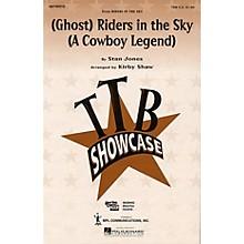 Hal Leonard (Ghost) Riders in the Sky (A Cowboy Legend) (TBB) TTB arranged by Kirby Shaw