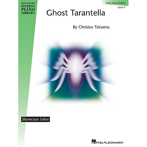 Hal Leonard Ghost Tarantella Piano Library Series by Christos Tsitsaros (Level Early Inter)