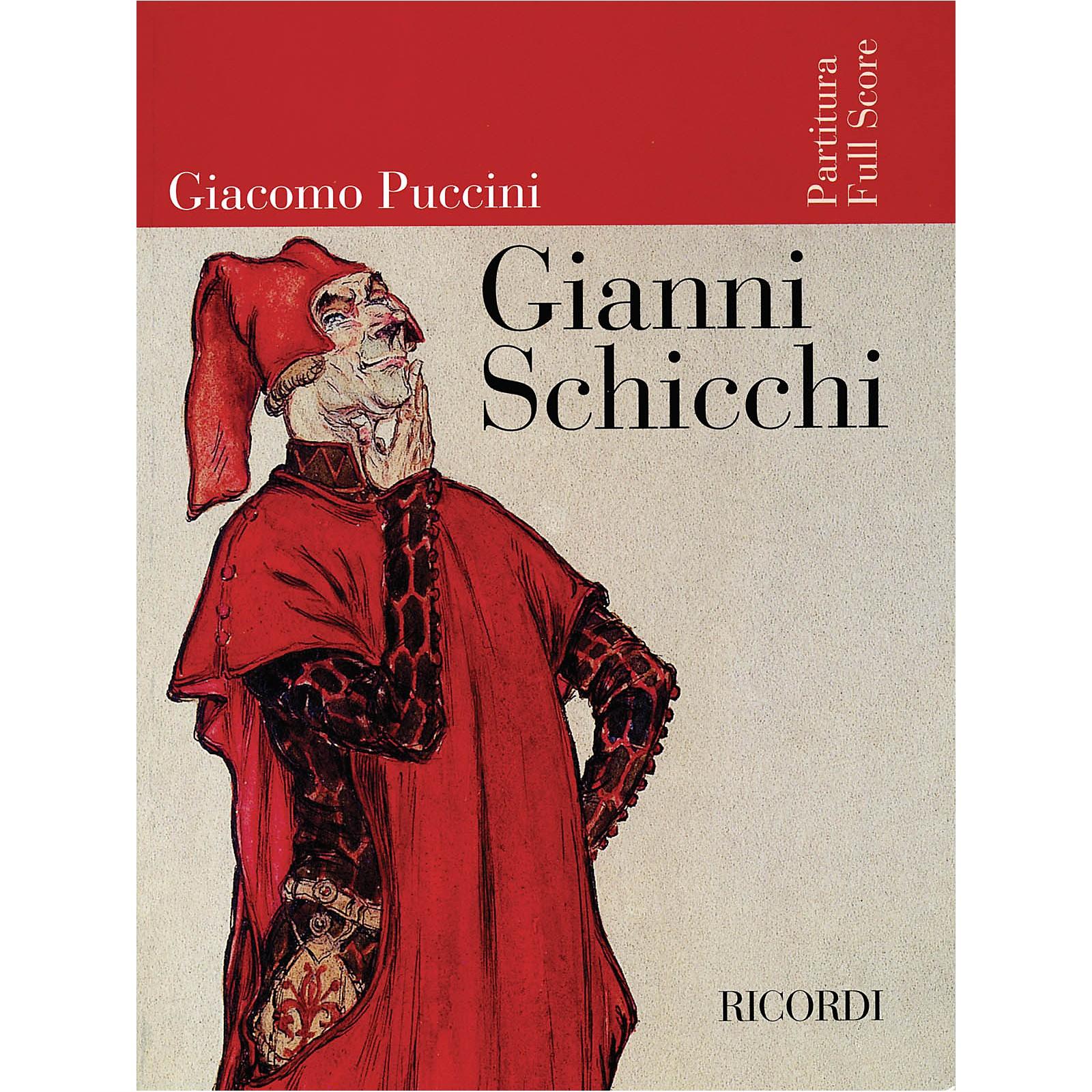 Ricordi Gianni Schicchi (Full Score) Misc Series  by Giacomo Puccini