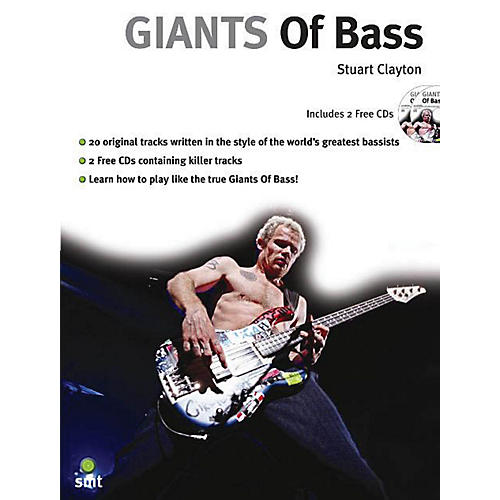 Music Sales Giants of Bass Music Sales America Series Softcover with CD Written by Stuart Clayton