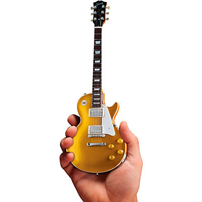 Axe Heaven Gibson 1957 Les Paul Gold Top Officially Licensed Miniature Guitar Replica