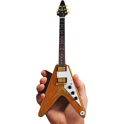 Axe Heaven Gibson 1958 Korina Flying V Officially Licensed Miniature Guitar Replica