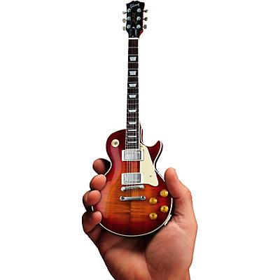 Hal Leonard Gibson 1959 Les Paul Standard Cherry Sunburst Officially Licensed Miniature Guitar Replica (clear packaging)