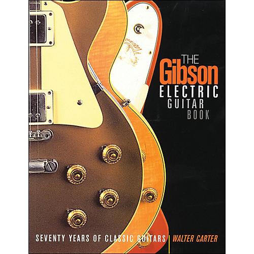 Backbeat Books Gibson Electric Guitar Book