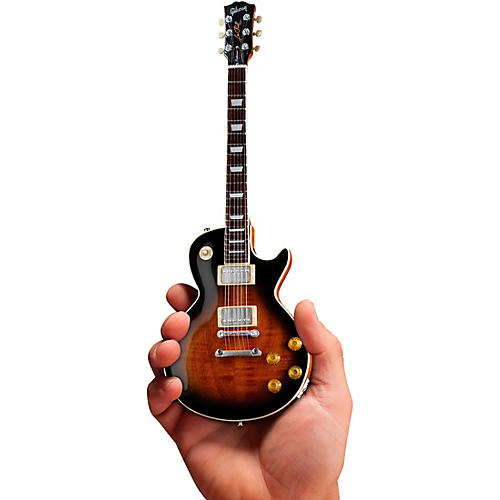 Axe Heaven Gibson Les Paul Traditional Tobacco Burst Officially Licensed Miniature Guitar Replica