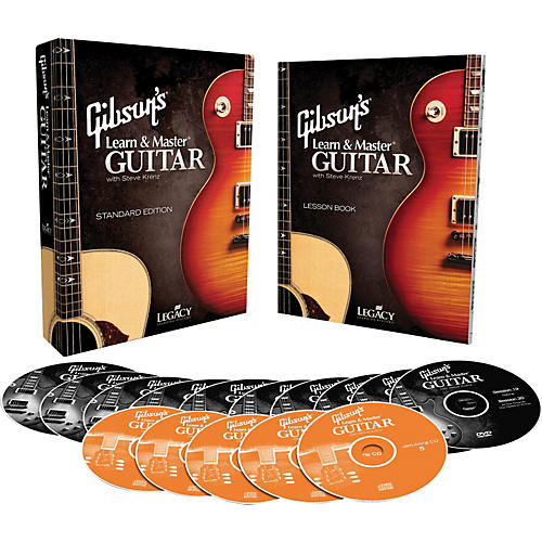 Hal Leonard Gibson's Learn & Master Guitar Boxed DVD/CD Set Legacy Of Learning Series