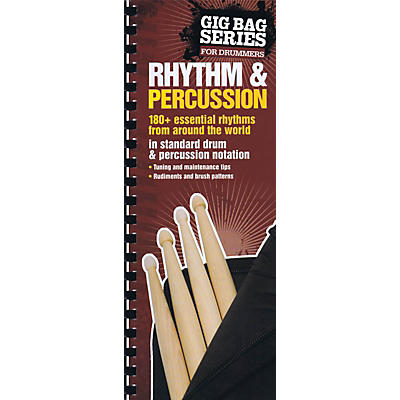 Music Sales Gig Bag Book of Rhythm & Percussion Music Sales America Series Softcover Written by Felipe Orozco