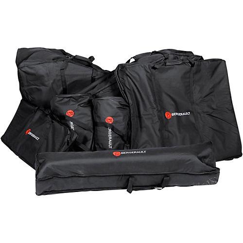 Bergerault Gig Bag Set for SRS50S 5.0 Octave Signature Series Marimba Black