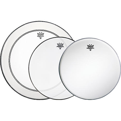 Remo Gig Pro Pack with Free Ambassador Hazy Snare-Side Drum Head