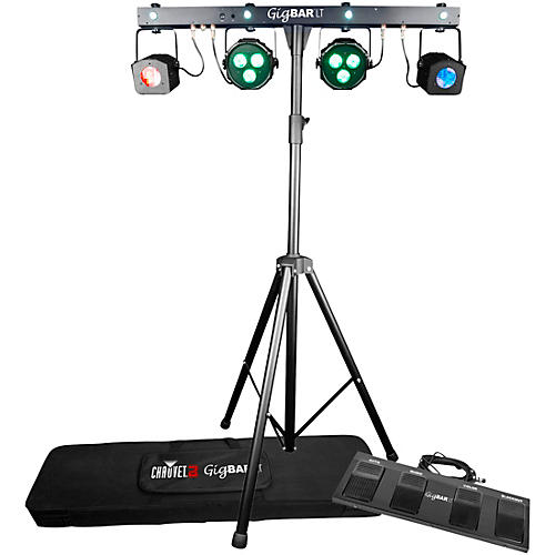 CHAUVET DJ GigBAR LT 3-in-1 LED Lighting Effect with Remotes and Stand