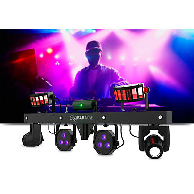 CHAUVET DJ GigBAR Move 5-in-1 LED and Laser Lighting Effects Bar