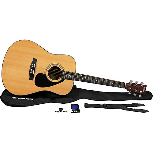Yamaha GigMaker Deluxe Acoustic Guitar Pack Natural
