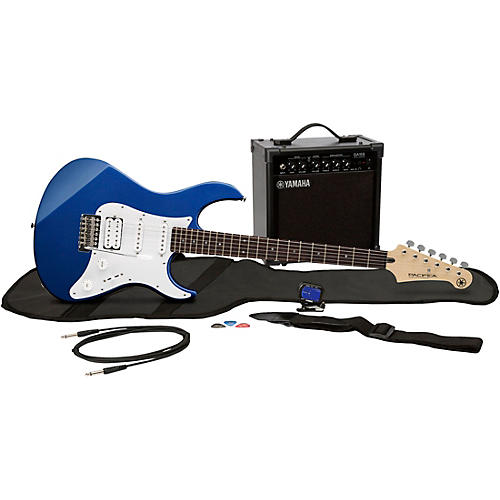 yamaha gigmaker eg electric guitar pack metallic dark blue musician 39 s friend. Black Bedroom Furniture Sets. Home Design Ideas
