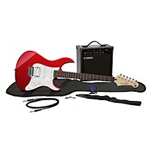 GigMaker EG Electric Guitar Pack Metallic Red