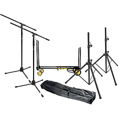 Gear One Gigging Pro Live Sound Accessories Pack