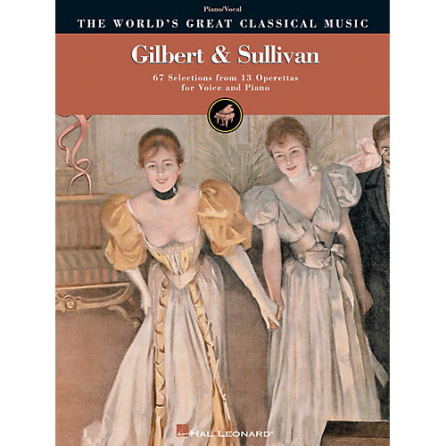 Hal Leonard Gilbert & Sullivan World's Greatest Classical Music Series