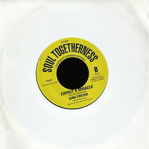 Alliance Gina Foster - B Side of Love/Expect a Miracle