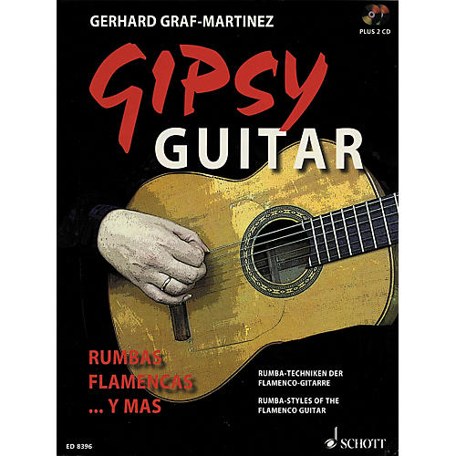 Schott Gipsy Guitar Songbook With 2 CDs