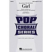 Hal Leonard Girl TTBB A Cappella by The Beatles Arranged by Deke Sharon