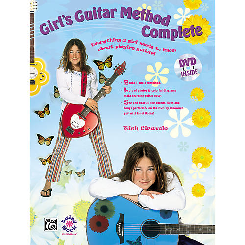 Alfred Girls Guitar Complete Book, DVD and T-Shirt