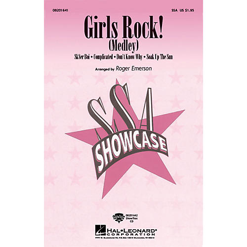 Hal Leonard Girls Rock! SSA arranged by Roger Emerson