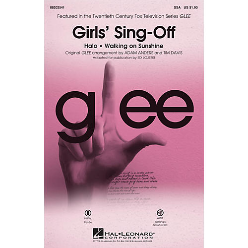 Hal Leonard Girls' Sing-Off (from Glee) ShowTrax CD by Glee Cast Arranged by Ed Lojeski