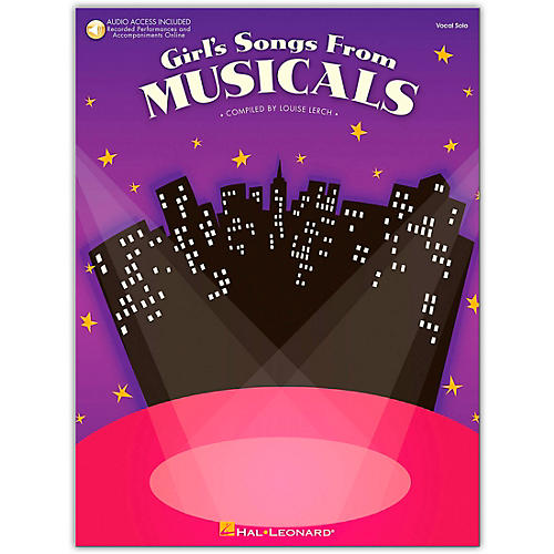 Hal Leonard Girl's Songs From Musicals Book/Online Audio